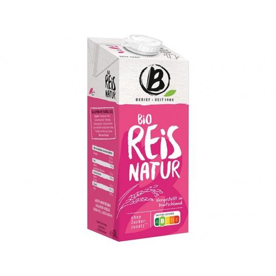 Bio Rýžový drink Natur BERIEF 1l