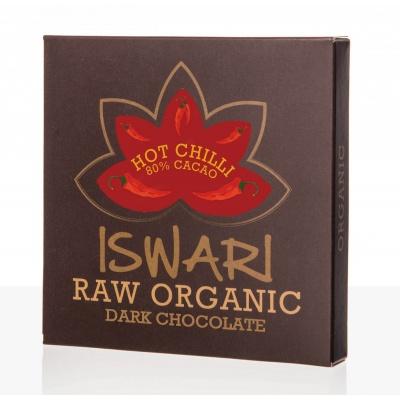 RAW čokoláda hot chilli 80% BIO 75 g