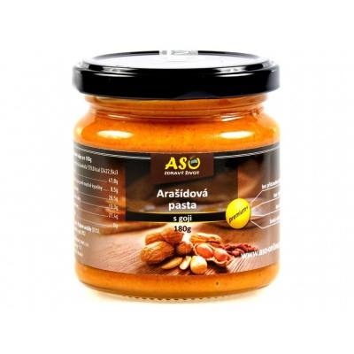 Arašídová pasta s góji 180 g