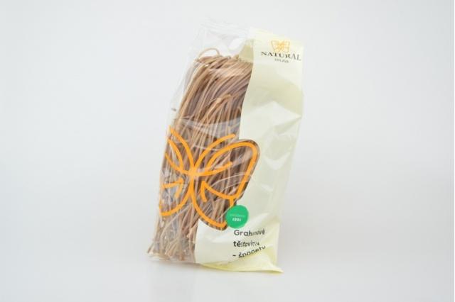 Těstoviny grahamové špagety 250 g