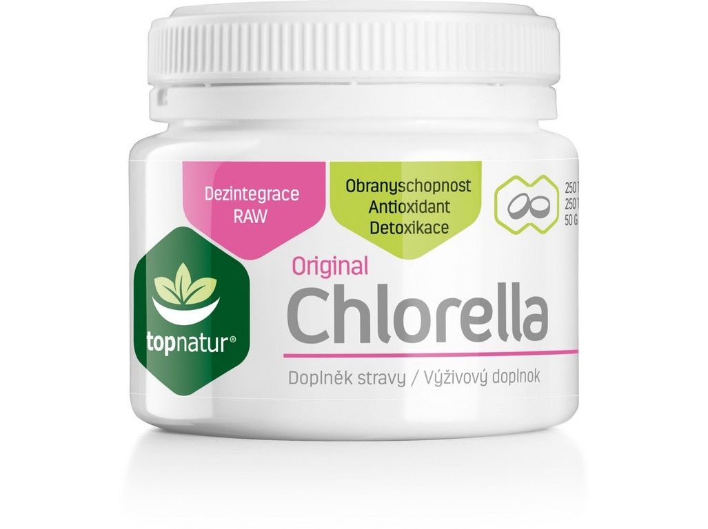 Chlorella 250 tablet