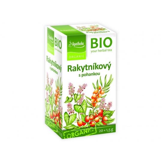 Bio Rakytníkový čaj s pohankou 20x1,5g
