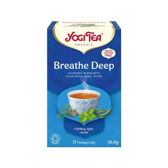 Bio Dýchat zhluboka Yogi Tea 17 x 1,8 g