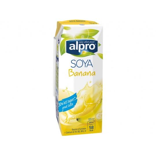 Sójový nápoj banán 250ml