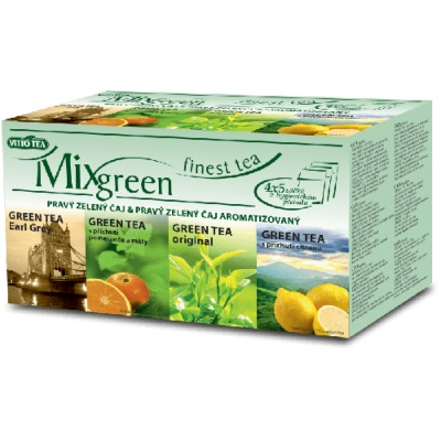 MIX GREEN čaj porcovaný 35 g