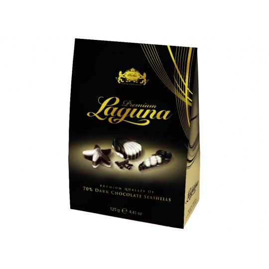 LAGUNA  PREMIUM bílá + hořká - stříška 70% 125g