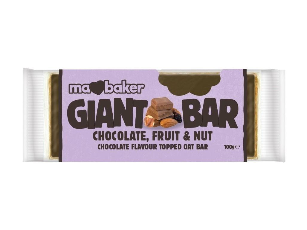 Tyčinka Obří Smoothie Bel.čokoláda+Ovoce+Ořechy 100g