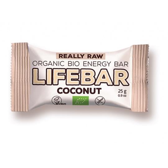 Bio tyčinka Lifebar kokosová RAW 25g