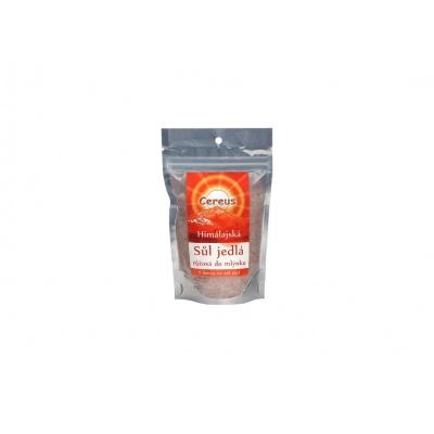 Himalájská sůl růžová- do mlýnku hrubá 200g