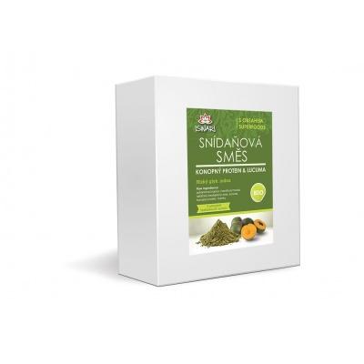 Bio snídaňová směs konopný protein-lucuma family 3,2kg