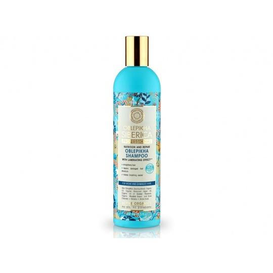 Rakytníkový šampon pro poškozené vlasy výživa a revitalizace 400ml