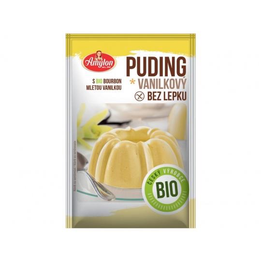 Bio Puding vanilkový Amylon 40g