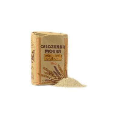 Mouka celozrnná pšeničná graham - Natural 1000g EXP.9.5.2019