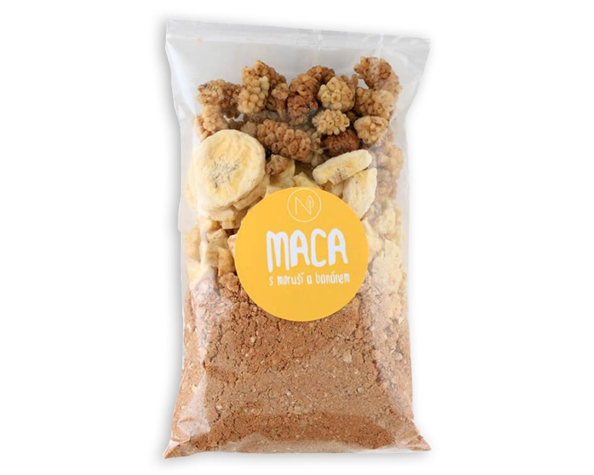 Superkaše MACA s moruší a banánem 70 g