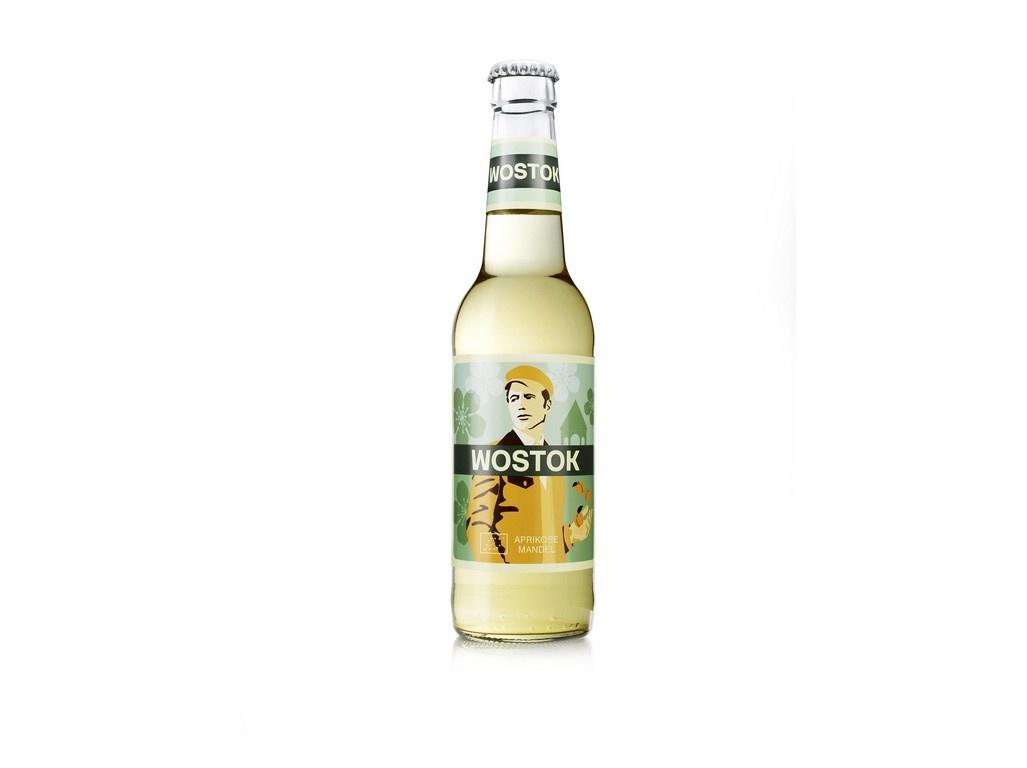 Limonáda Bio Wostok meruňka a mandle 0,33l