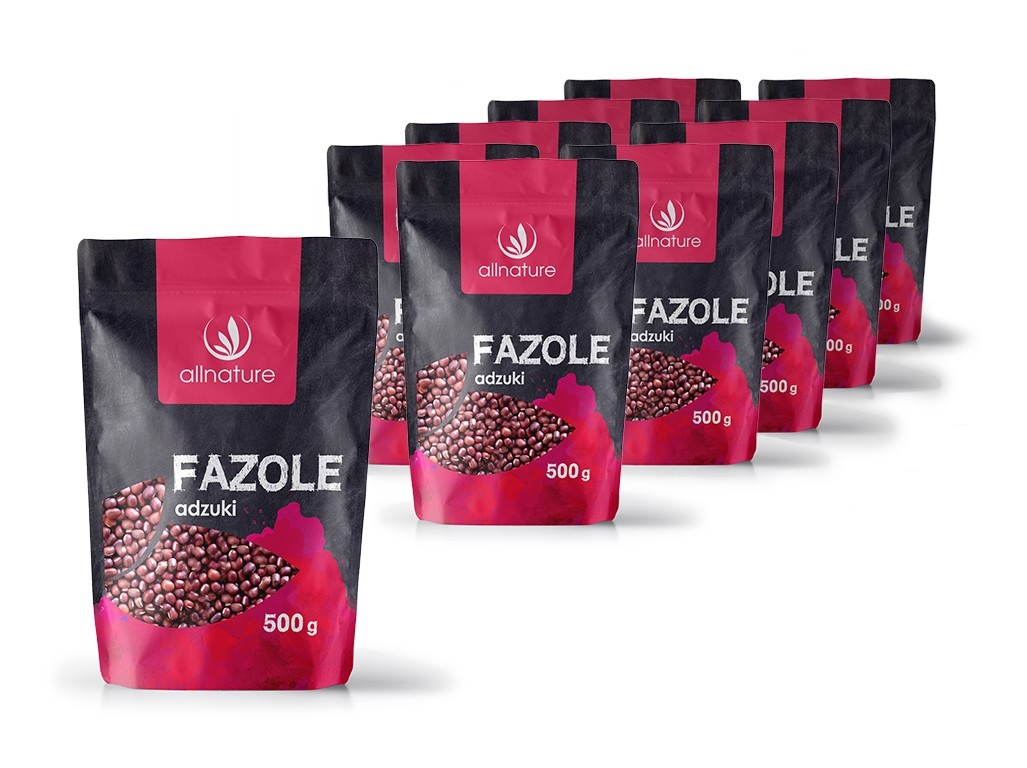 Fazole adzuki 500g 10x +10% sleva