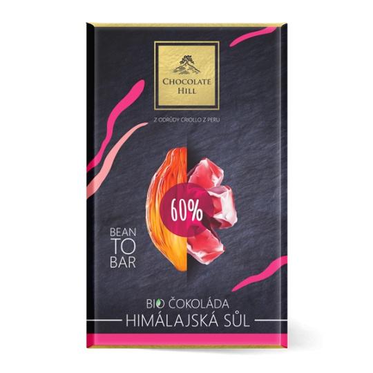 60% Čokoláda s himálajskou solí BIO 60 g