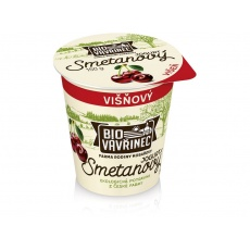 Bio Smetanový jogurt Višeň150g