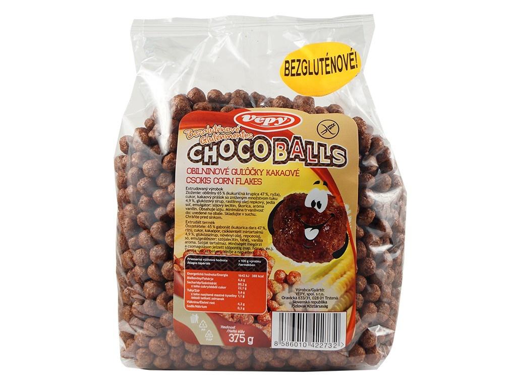 Kuličky obil. kakaové bezlepkové 375g