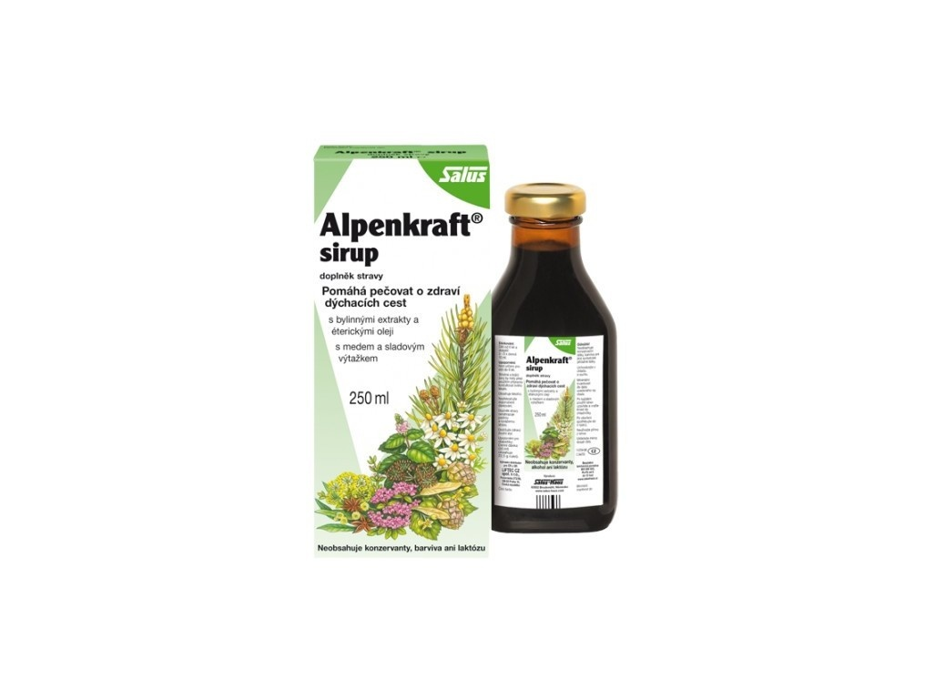 Salus Alpenkraft 250 ml, min. trv. 1.7.2019