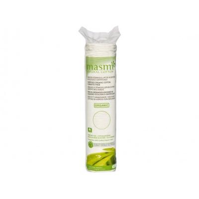 Kosmetické vatové polštářky z organické bavlny Masmi 80 ks
