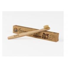 Zubní kartáček bambusový JUNIOR dětský Curanatura