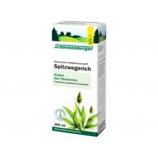 Bio čerstvá rostlinná šťáva Schoenenberger - Jitrocel 200ml
