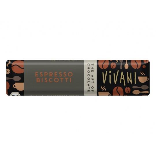 Bio tyčinka Čokoládová s espresso náplní 40g