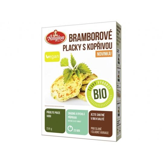 Bio bramborové placky s kopřivou Amylon 250g