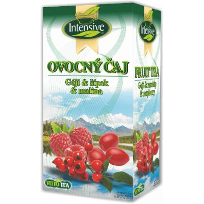Intensive čaj Gója šípek malina ovocný porcovaný 40 g