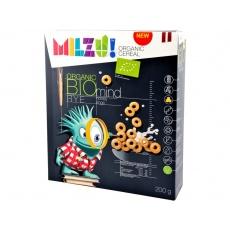 Bio Cereální kroužky s medem 200g