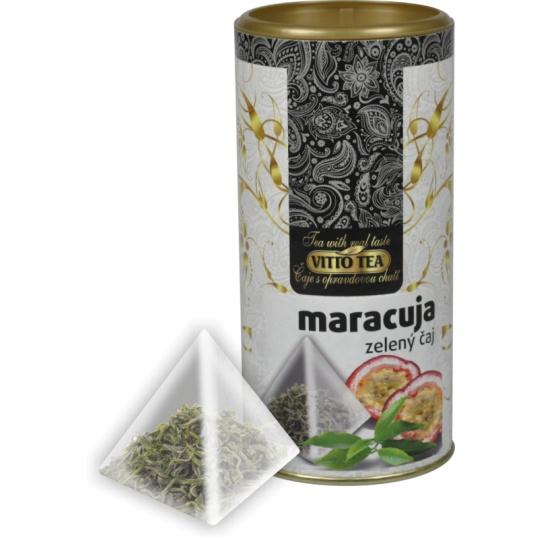 TUBUS Zelený čaj maracuja pyramida 22,5 g