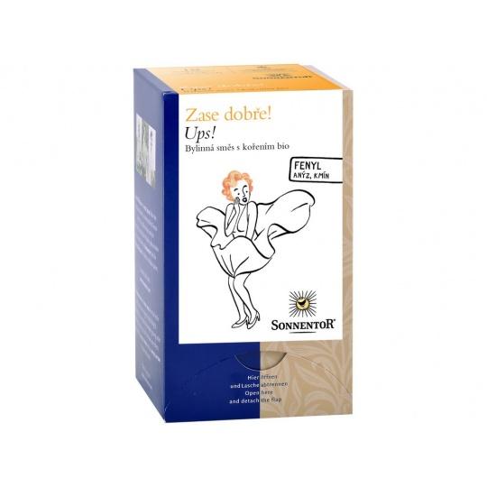 Bio bylinný čaj s kořením Ups! 30,6g