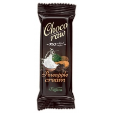 ŽIVAN CHOCO RAW - PINEAPPLE CREAM 55g min.trv.22.6.2021