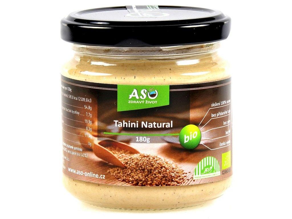 Tahini natural BIO 180 g