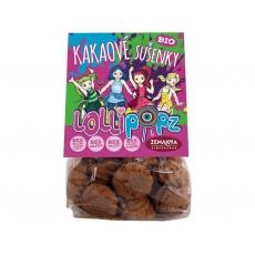 Bio kakaové sušenky Lollipopz 100g