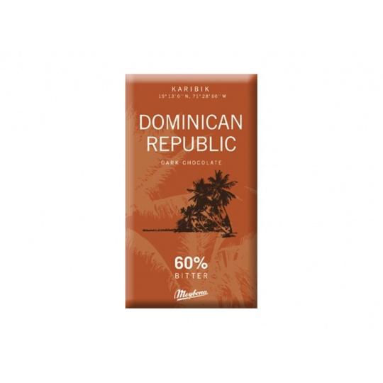 Čokoláda hořká Dominican republic 60% 40g