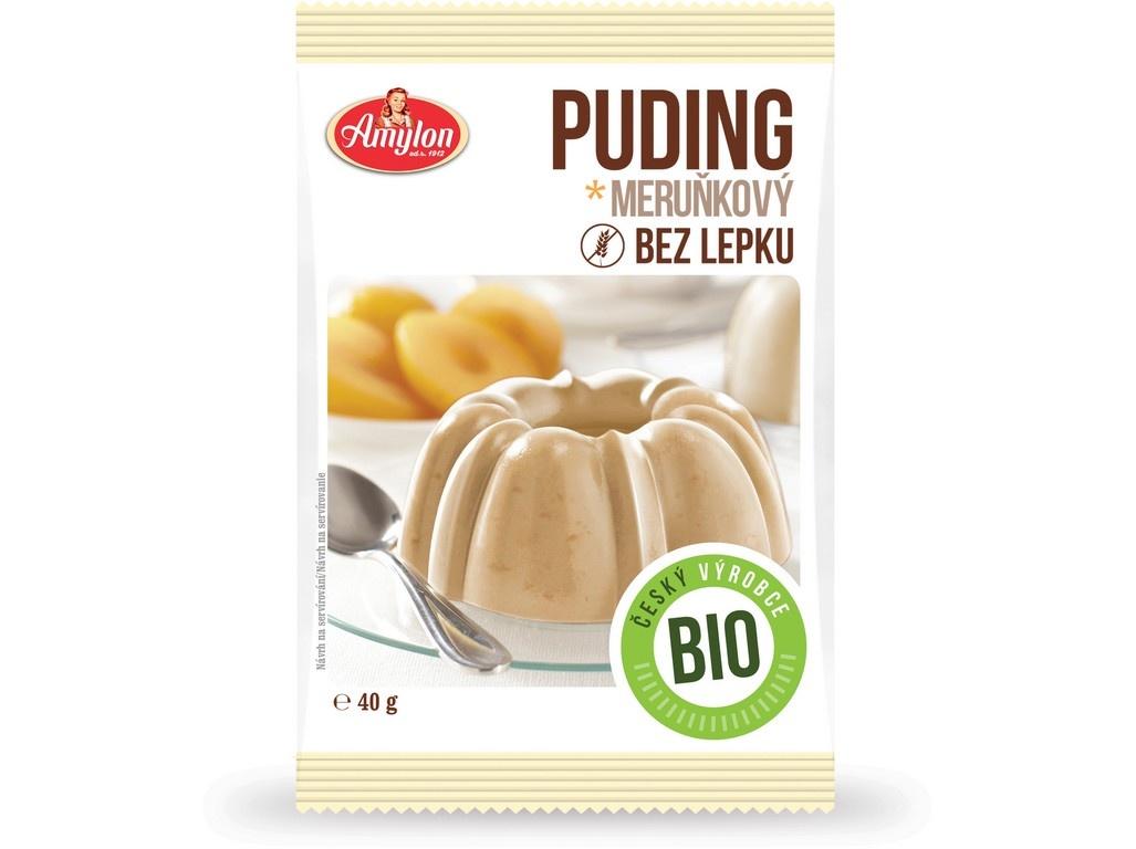 Bio Puding meruňkový Amylon 40g