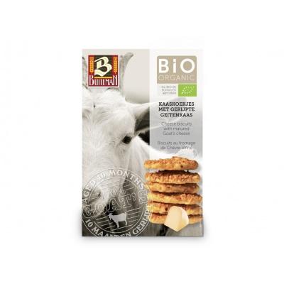 Bio Sýrové biskvity se zralým kozím sýrem 75g