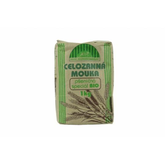Mouka celozrnná pšeničná special BIO 1000g