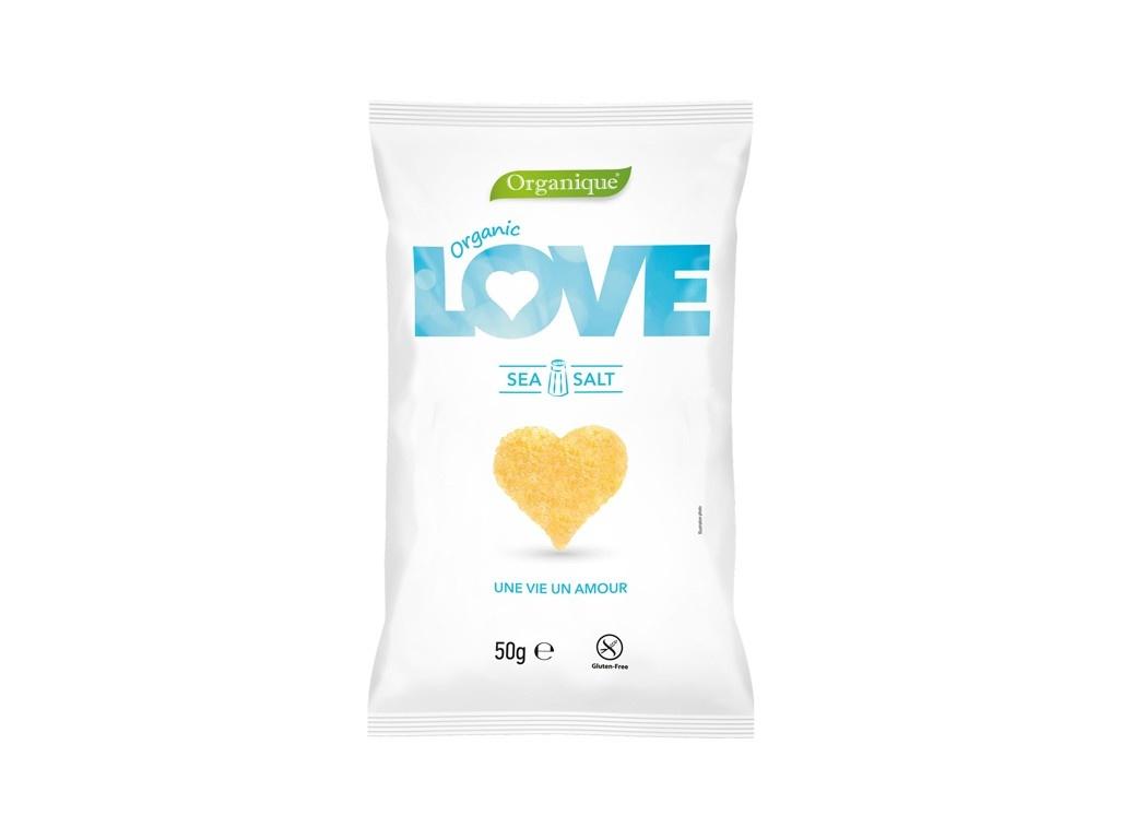 Bio Snack kukuřičný Srdce 50g