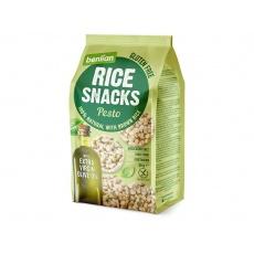 Rýžový slaný snack z hnědé rýže Pesto 50g