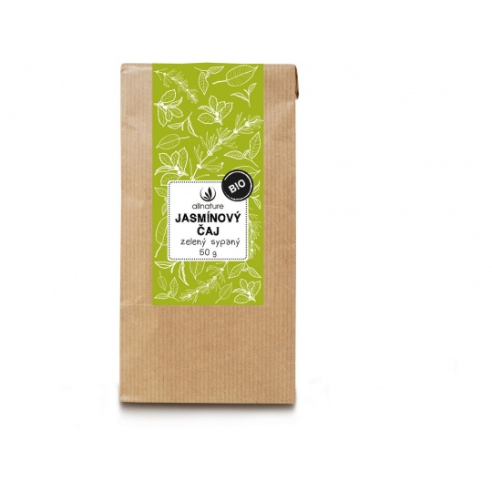 Bio Jasmínový čaj zelený sypaný 50g