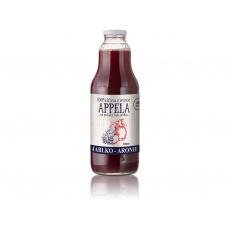 Jablko - arónie 1l - 100% přírodní šťáva min.trv.12.12.2020