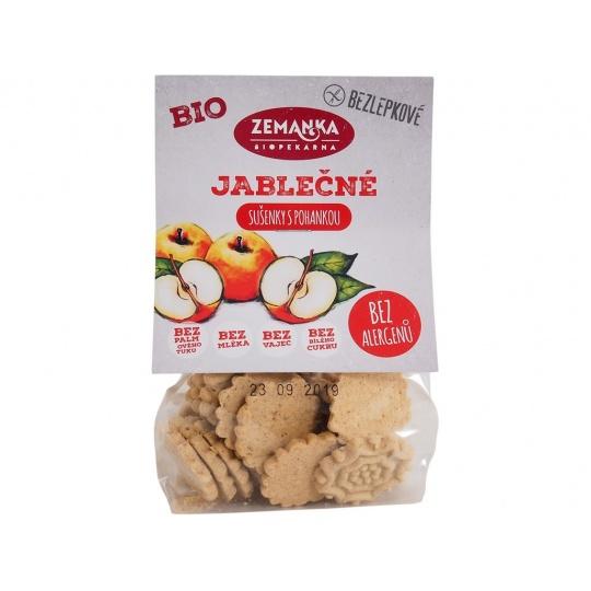 Bio Bezlepkové jablečno-pohankové sušenky 100 g