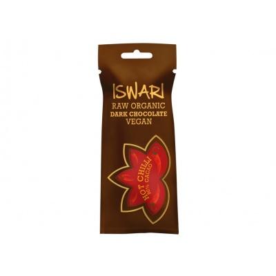 Bio čokoláda Hot Chilli 40g
