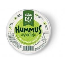Hummus Avokádo 180g
