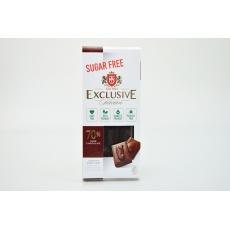 Čokoláda hořká 70% bez přid.cukru se sladidlem Erythritol-TAI TAU 100g