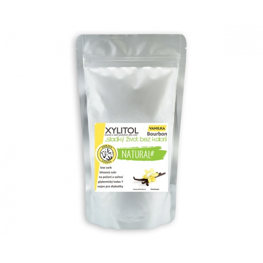 Xylitol   březový cukr Vanilka 500 g