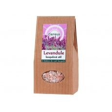 Koupelová sůl levandule 500g